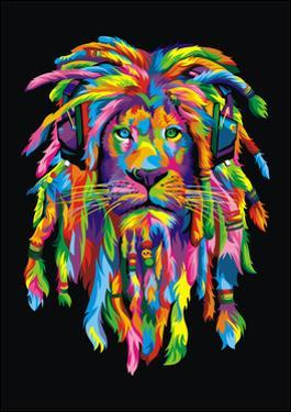 Lion Rasta by Bob Weer