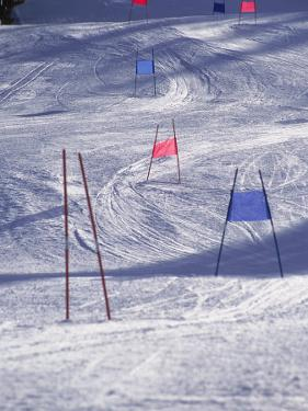 Slalom Ski Race Course by Bob Winsett