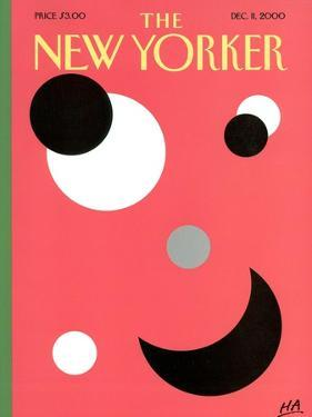The New Yorker Cover - December 11, 2000 by Bob Zoell (HA)