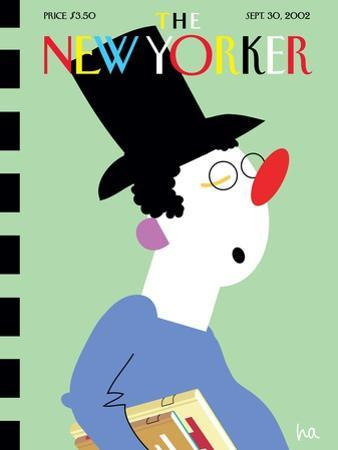 The New Yorker Cover - September 30, 2002 by Bob Zoell (HA)