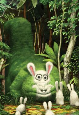 Big Bad Bunny Eater by Bobby Chiu