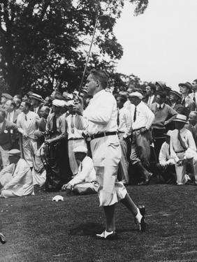 Bobby Jones, 1929 U.S. Open at Winged Foot Golf Club