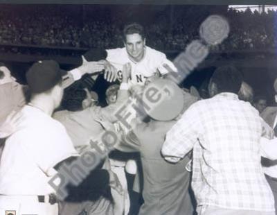 Bobby Thomson - 1951 Home Run Celebration (on shoulders)