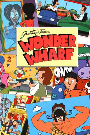 Bobs Burgers- Greetings From Wonder Wharf
