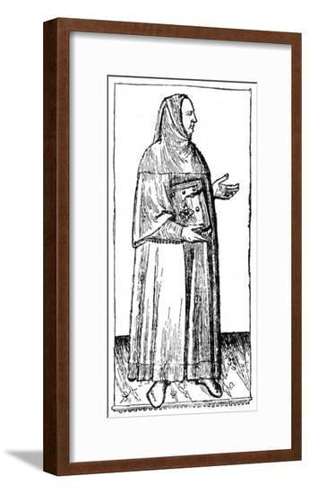 Boccaccio (Drawing)--Framed Giclee Print