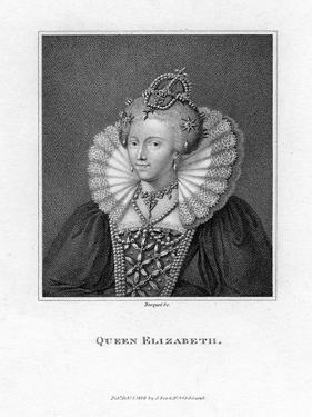 Elizabeth I of England by Bocquet