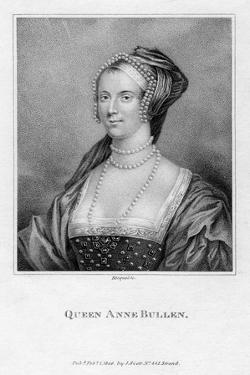 Queen Anne Bullen, 1806 by Bocquet