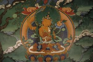 Boddhisattva Manjushri (Buddha of Wisdom) with the Sword of Knowledge, Ladakh, India