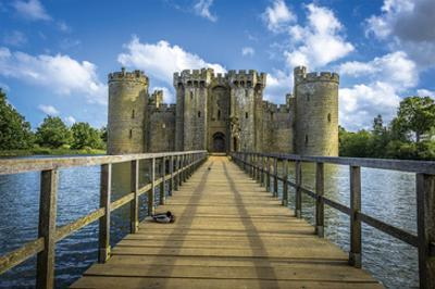 Bodiam Castle East Sussex Uk