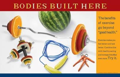 Bodies Built Here Poster