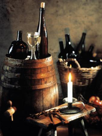Rustic Wine Setting by Bodo A. Schieren