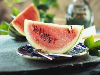 Two Slices of Watermelon by Bodo A. Schieren