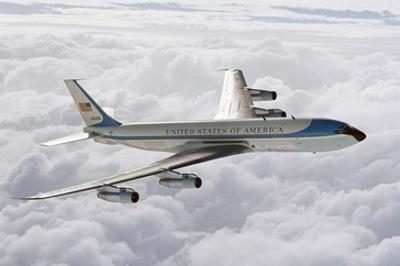 Boeing 707 1st president plane