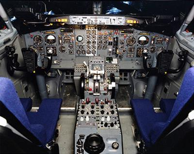 Boeing 737 1960s Cockpit