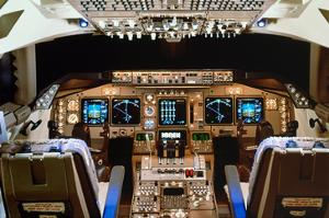 Boeing 747 digital Flight Deck