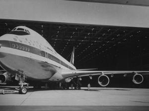 Boeing 747, the World's Largest and Fastest Jetliner at the Boeing Manufacturing Plant