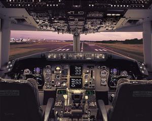 Boeing 767 Flight Deck
