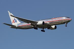 Boeing 767 of American Airlines