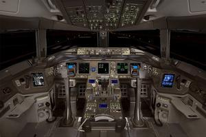 Boeing 777 jetliner