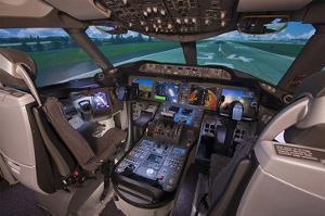 Boeing 787 Flight Deck