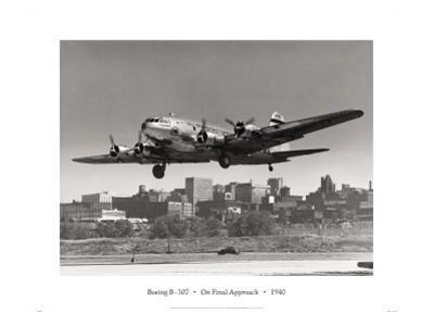 Boeing B-307 on Final Approach, 1940