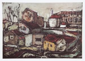 Rustic Scene by Bogdan Grom