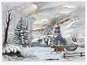 Winter Tranquility by Bogdan Grom