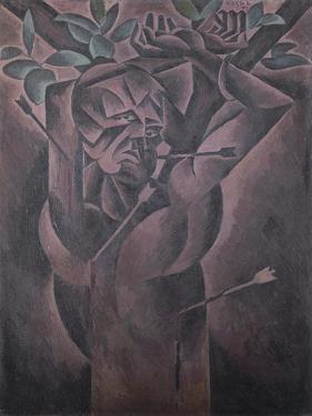 St Sebastian by Bohumil Kubista