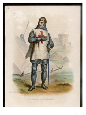 Godefroi De Bouillon Duc De Lorraine Crusader Chosen King of Jerusalem by Boilly