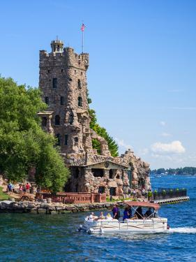 Boldt Castle in Thousand Islands, New York State, USA