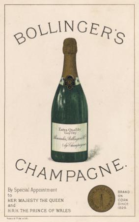 Bollinger's Champagne