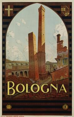 Bologna Travel Poster