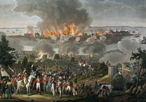 Bombardment of Copenhagen, 1807, Napoleonic Wars, Denmark