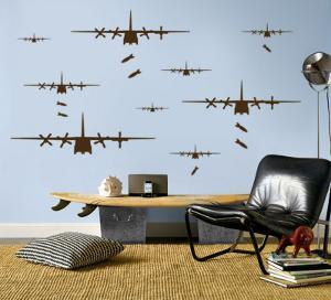 Bomber Airplanes - Brown