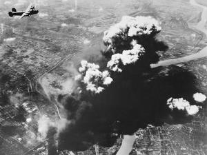 Bombers Attacking Oil Refineries