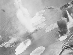 Bombing of Kure Harbor by American Aircraft