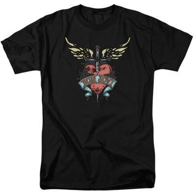 Bon Jovi- Heart & Dagger Tattoo