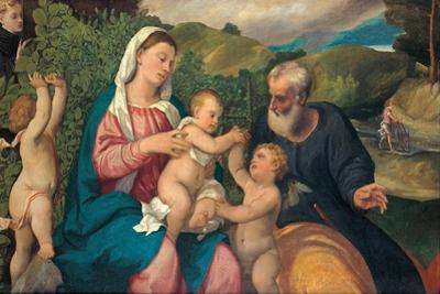 Rest on the Flight into Egypt, 1520s