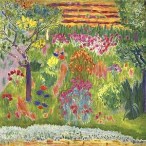 Garden by Bonnard Pierre