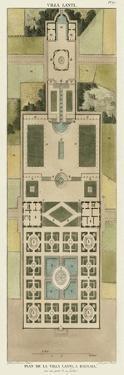 Plan De La Villa Lanti by Bonnard