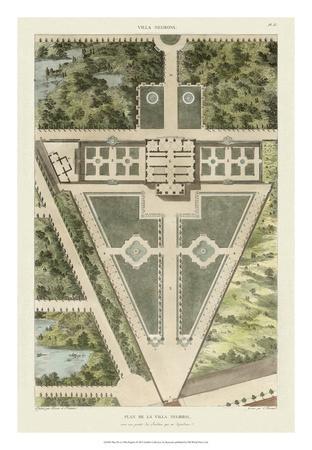 Plan De La Villa Negroni