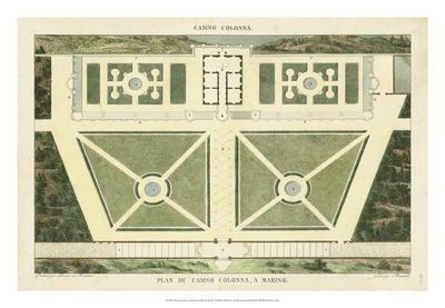 Plan du Casino Colonna, A Marino