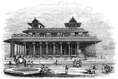 Palace of Allahabad, India, 1847