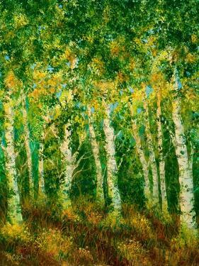 Birch Trees by Bonnie B. Cook