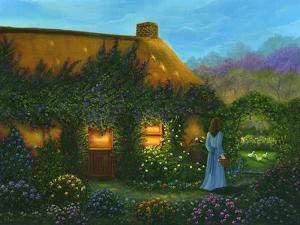 Irish Cottage by Bonnie B. Cook