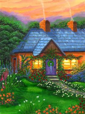 Rose Cottage by Bonnie B. Cook