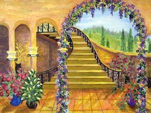 Terrace Garden by Bonnie B. Cook