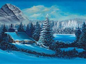 Winter Scene by Bonnie B. Cook