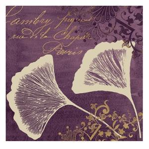Lavender Ginkgo by Booker Morey