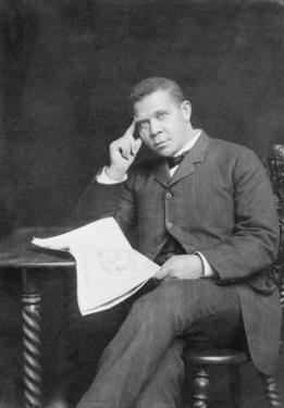 Booker T. Washington, African American Educator and Leader, 1900
